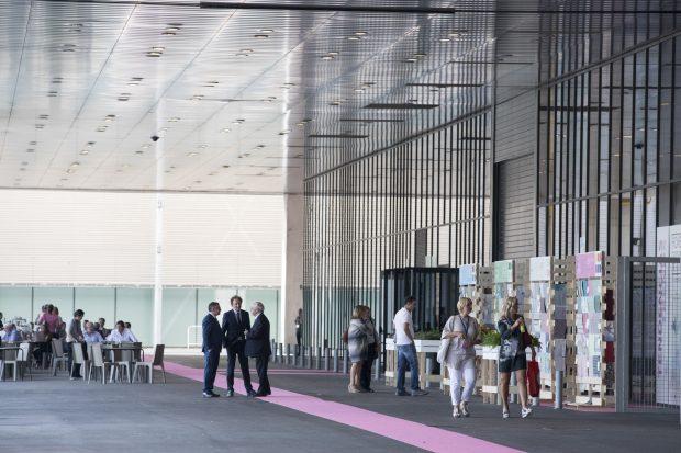 Las mejores editoras textiles participarán en la nueva área contract 'El Cubo'