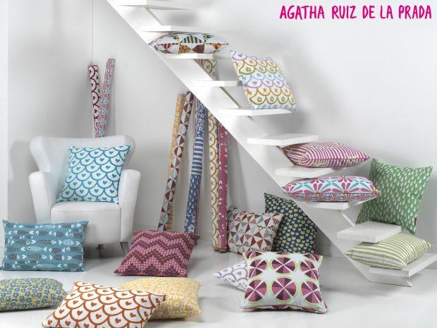 AGATHA RUIZ DE LA PRADA y VISATEX, una unión perfecta en el textil-hogar