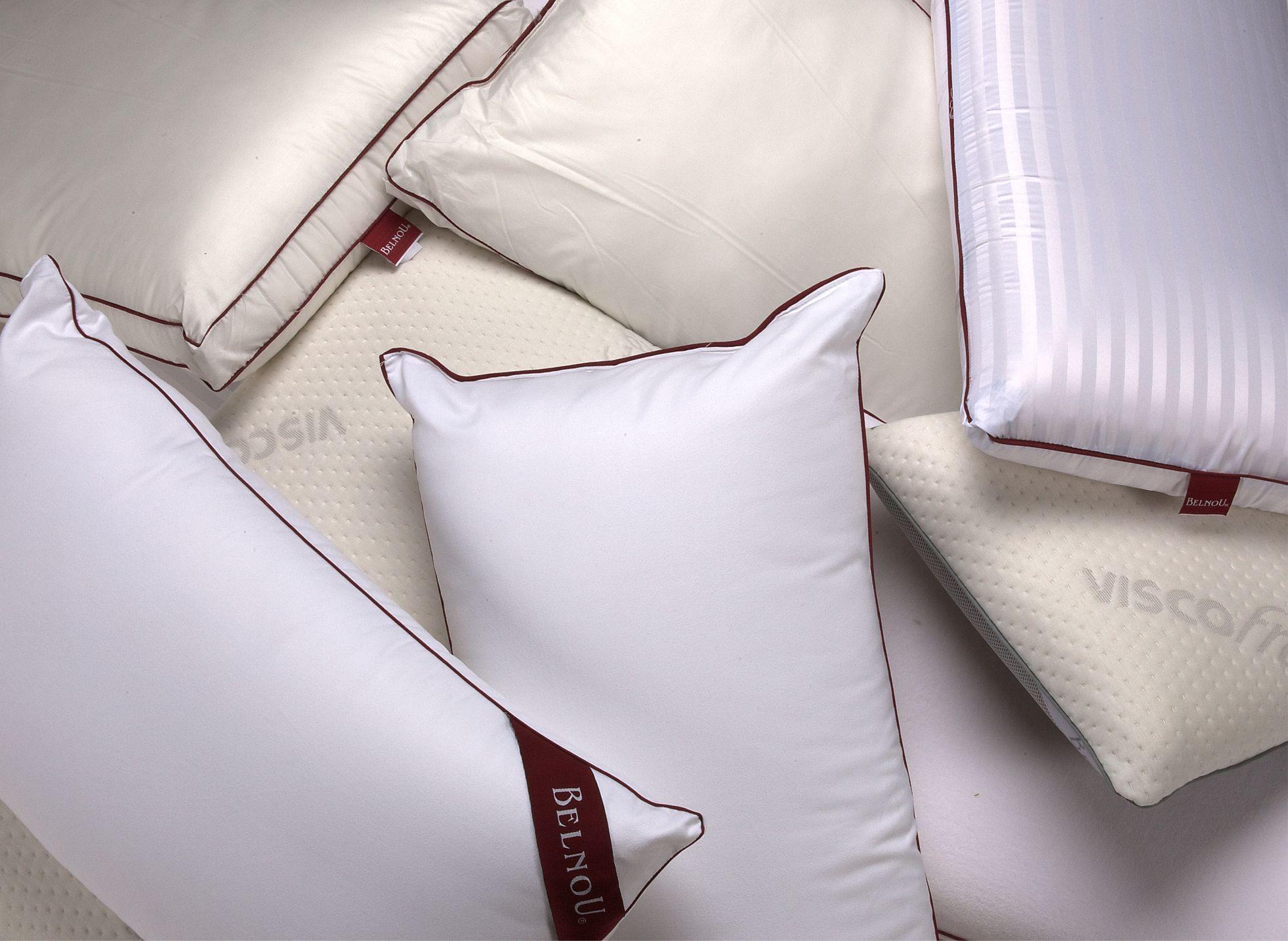 Nueva colección de almohadas viscoelásticas de BELNOU